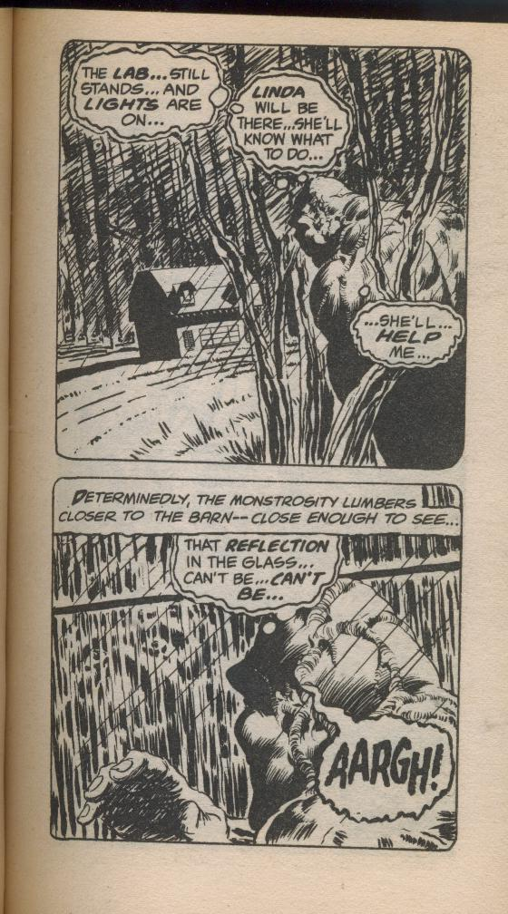 SWAMP THING - 1982 - reprints 1st three issues of comics