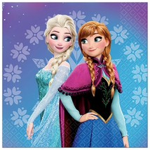 Disney Frozen Magic Lunch Napkins 16 Per Package Birthday Party Supplies - $3.46