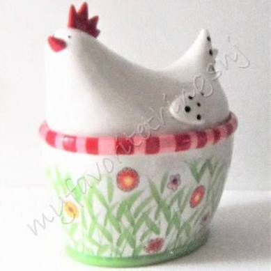 Primary image for Department 56 Hen Covered Bowl / Cookie Jar