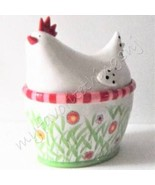 Department 56 Hen Covered Bowl / Cookie Jar - $42.50