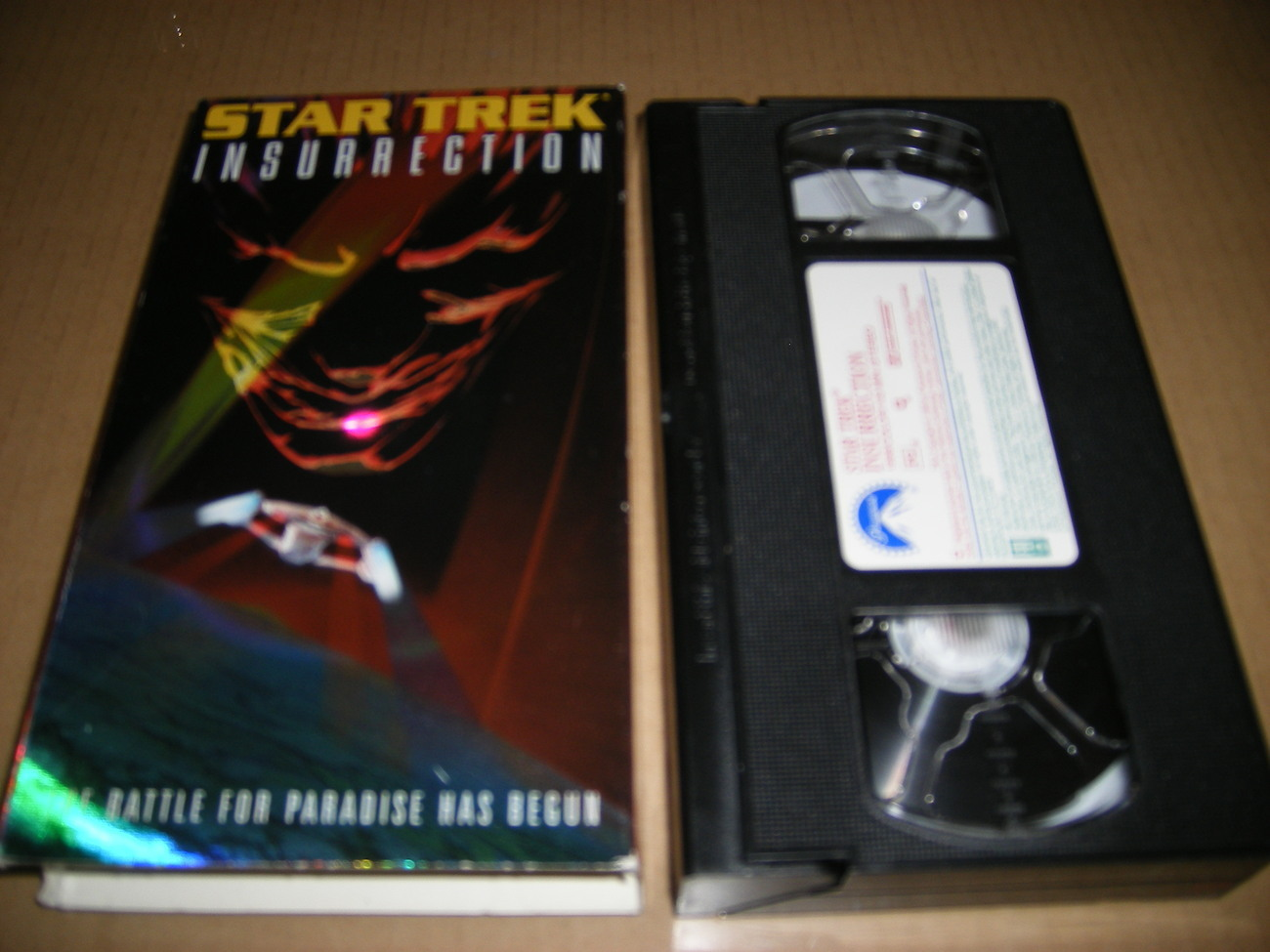 STAR TREK: INSURRECTION  (VHS, 1967)