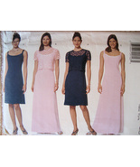 Butterick 5978 New Unused Womans 20 to 24 Brides Maid Dress - $8.95