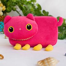 [Pink Kitty] Medium Plush Cosmetic Camera bag (6.1*3.5*1.5) - $10.99