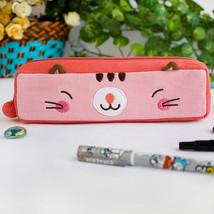 [Pinky Kitten] Pencil Pouch Bag Case(7.3*1.8*1.9) - $10.99