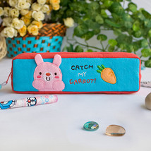 [Catch My Carrot] Pencil Pouch Bag (7.5*2.2*1.6) - $10.99