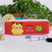[Catch My Apple] Pencil Pouch Bag (7.5*2.2*1.6) - $10.99