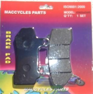 Disc Brake Pads for the Harley FLTR 08-09 Front (1set)
