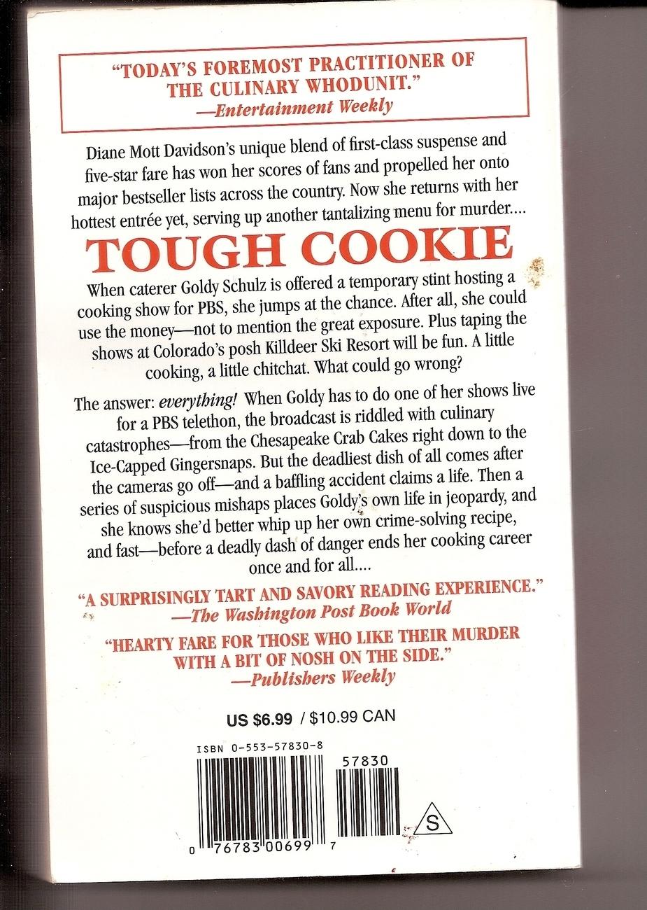 Tough Cookie Diane Mott Davidson Goldy Schulz Series
