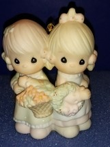 PRECIOUS MOMENTS 1988 FIGURINE # 113956 TO MY FOREVER FRIEND. TWO GIRLS ... - $14.70