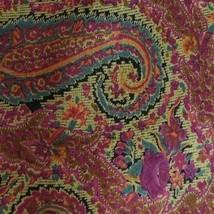 Vintage Pink Green Brown Paisley ARMANI Silk Tie - $14.99