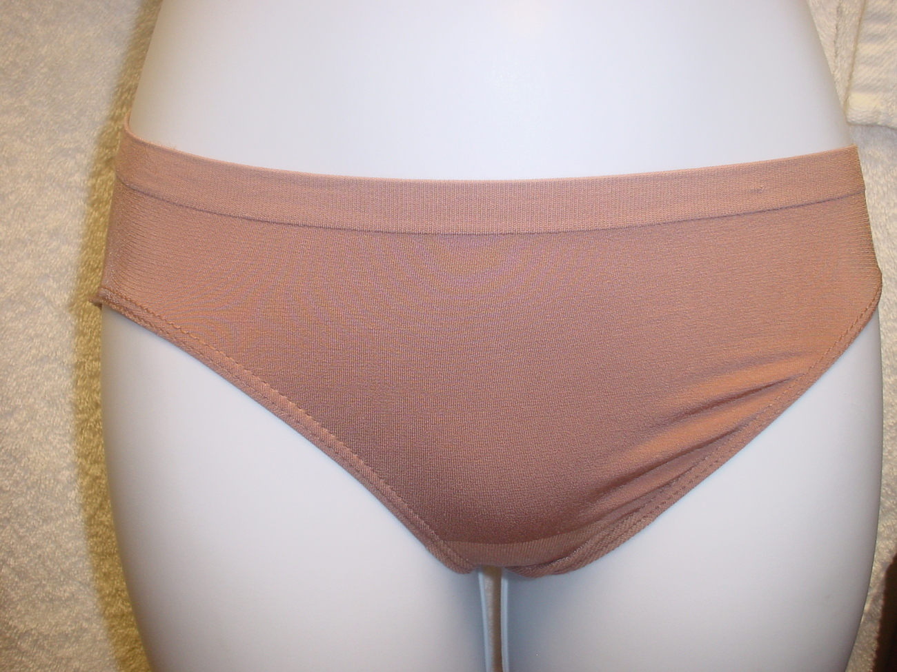 Jockey Seamless Panty 5/Small Brown SP-Slightly Imperfect  NWOT