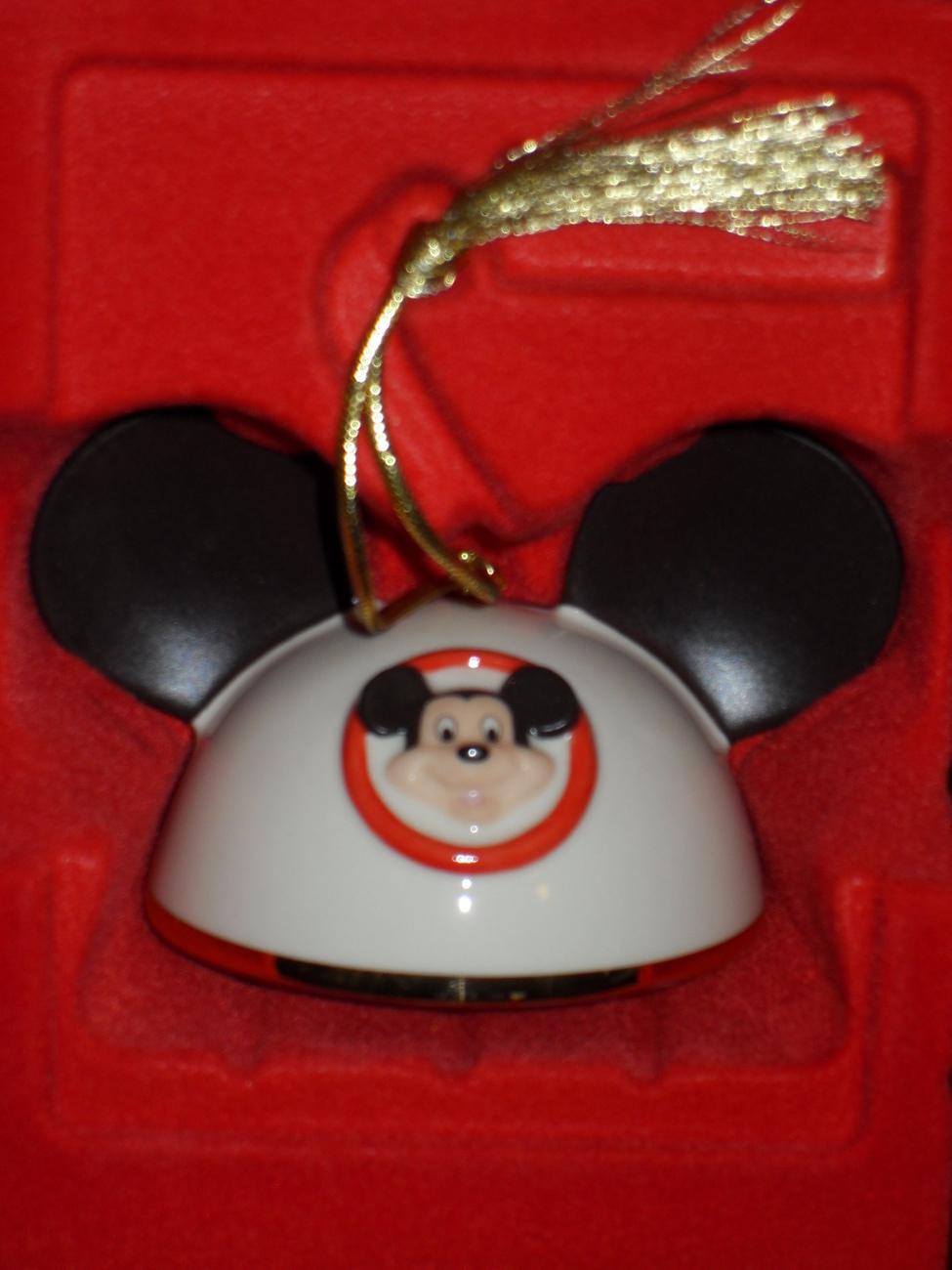 Lenox Disney My Own Mickey Mouse Ears Boy Ornament