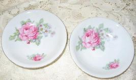 Schwarezenhammer Berry Bowls-Roses-Porcelain-Set of 2- Bavaria - $8.50