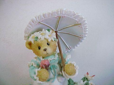 Cherished Teddies Kimberly -Summer Brings a Season of Warmth-Retired Figurine