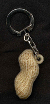 PEANUT KEYCHAIN-Vintage Retro Food Gumball Charm Novelty Jewelry - $6.97