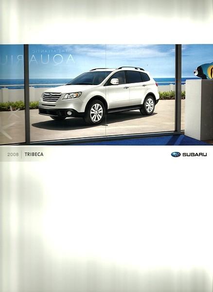 2008 Subaru TRIBECA sales brochure catalog 08 US Limited