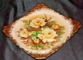 Hand painted Plate by Enesco AA20-7053 Vintage Collectible - $99.95
