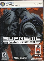 Supreme Commander (PC) New & Sealed - $20.00