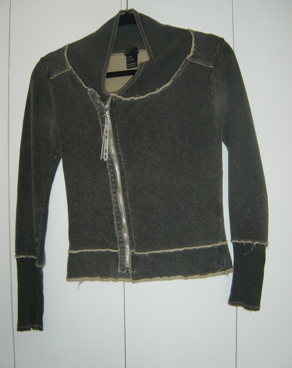 Primary image for Diesel Grey Zipped Top (Size: Small) GUC