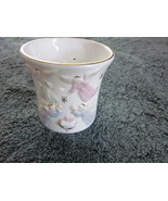 Angel Design Candle Holder in porcelain 3 inches tall - $14.99