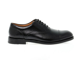 Lace-up shoes Clarks COLI BO N in black leather - Men's Shoes - $210.90
