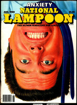 National Lampoon Aug. 1980, v2 #25 - Anxiety Issue - $7.50