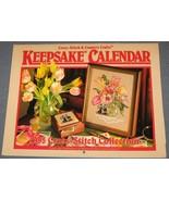 Cross Stitch & Country Crafts Keepsake Calendar... - $7.50
