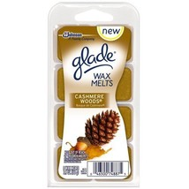 Glade Wax Melts - Cashmere Woods - Net Wt. 3.1 OZ (88 g) - 8 Wax Melts P... - $34.29