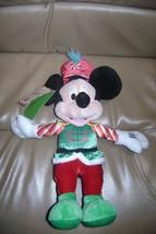 "Hallmark Disney Nutcracker Sweets Mickey Mouse 15"" Plush w/ Sound Nwt 2013 - $24.94"