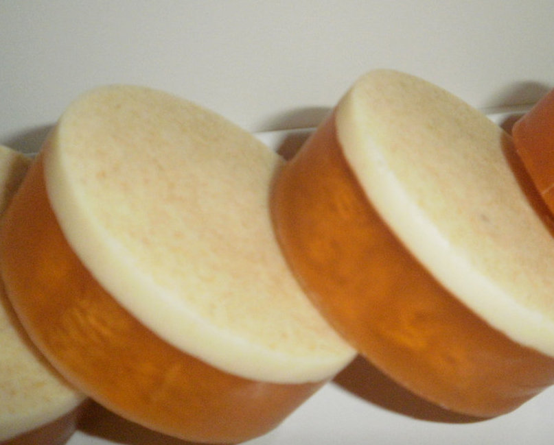 Handmade Pedicure Loofah Soap with a Burst of Citrus