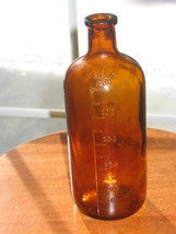 Amber Apothecary Bottle-Graduated-Large - $15.00