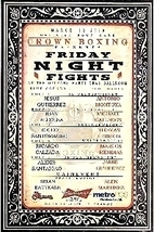 Friday Night Fights Presents Brian Battease Vs. Alen Martine Promo Card - $3.95