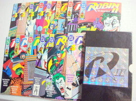 Robin II Deluxe Collector's Set with 14 Robin Comics  - $19.99