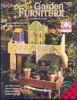 Garden Furniture Painting Book by Kathleen Taylor