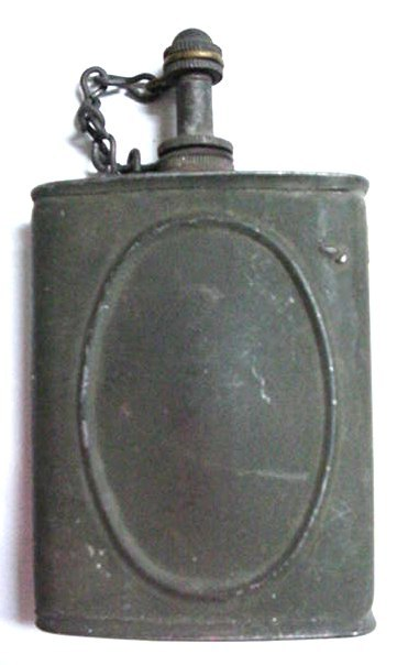 wwI U.S. Army Gun Rifle Oil Tin Oiler Can Military Soldier