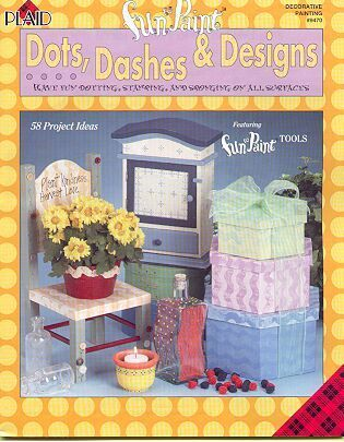 Dots Dashes & Designs Fun to Paint Book