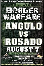 Alfredo Angulo Vs. Gabriel Rosado Promo Card - $3.95