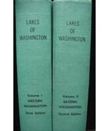 Lakes Of Washington State Book Set 1973 Fishing Hiking - $75.00