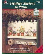 Creative Shelves to Paint Tasha Yates Painting Book - $6.79