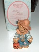 Cherished Teddies Tom Scarecrow Figure - $9.99