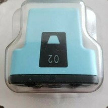 HP 02 Light Cyan Colored Ink Cartridge, Standard, HP C8733W, Sealed - $9.50