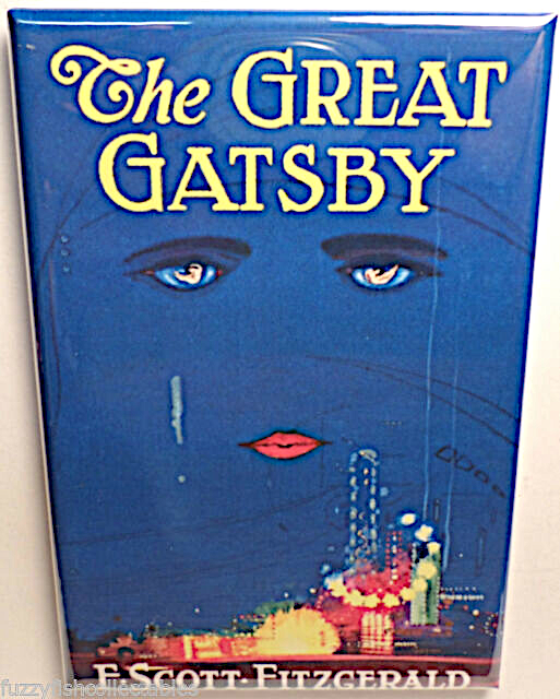 Great gatsby magnet 2x3