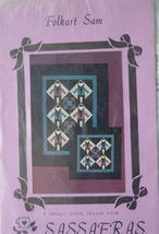 "Pattern ""Folkart Sam"" Small Quilts, Wall Hangings - $5.00"