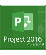 Microsoft Project 2016 Professional 32/64 Bit Key With Download - $9.90