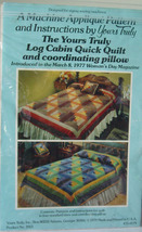 Pattern Log Cabin Quick Quilt and Pillow - $5.00