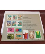 United Nations Immunize Every Child card 1987 stamps - $5.00