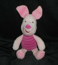 """12"""" Disney Winnie de Pooh Bebé Lechón Sonajero Arrugado Peluche Plush Toy - $20.74"""