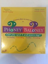 Phoney Baloney Board Game Brand New Sealed - $19.95