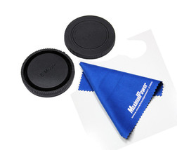 MaximalPower™ SONY E-Mount Rear & Body Lens Caps+ Cleaning Cloth - $5.93