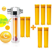 VitaFresh Shower Filter Vitamin C Inline Shower Filter 7pcs Filter Cartr... - $88.68